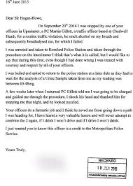 sample thank you letter after interview law enforcement cover