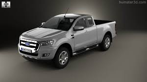 ford ranger 2015 360 view of ford ranger super cab xlt 2015 3d model hum3d store