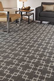 Office Area Rugs Geometric Patterned Carpet Gray Home Office Ideas
