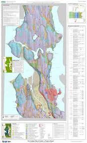 seattle map the geologic map of seattle a progress report