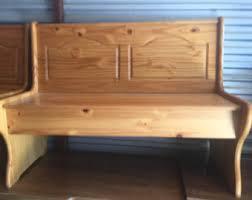 Outdoor Bench With Storage Vintage Storage Bench Etsy