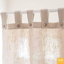 Curtains Co Tabbed Organic Hemp Curtain Draperies Window Treatments By