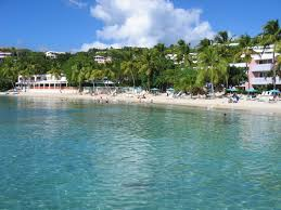 Map Of Caribbean Beach Resort by The Best Beaches In St Thomas Virgin Islands