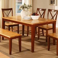 Cherry Dining Table Two Tone Cherry Dining Table World Imports Furniturepick