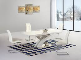 Dining Table Chairs Purchase Ga Alexis Xo Extending White 160 220 Cm Dining Set 6 Grey White