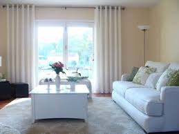 Curtains For A Large Window Window Curtains For Living Room Small Cottage Ideas Large Windows