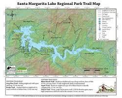 santa map santa margarita lake regional park map cccmb