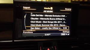 2012 audi a6 sd card plays video no problems youtube