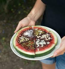 jeux de cuisine de pizza au chocolat pizza de pastèque au chocolat et fruits secs les meilleures