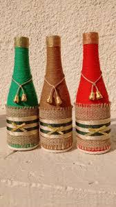 1251 best botellas decoradas images on pinterest wine bottle