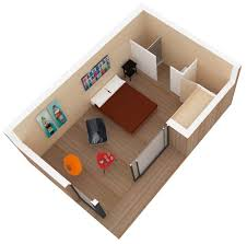 plan chambre 12m2 créer une chambre d amis dans une cabane en bois
