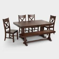 Table And Benches For Sale Dining Room Furniture Sets Table U0026 Chairs World Market