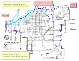 Holland Map Potholes City Of Holland Michigan Official Website