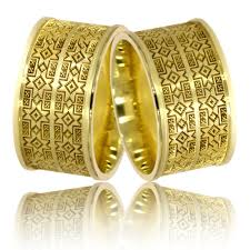 verighete din aur verighete din aur galben cu motive traditionale romanesti
