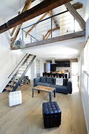 chambre mezzanine mezzanine inspiration gain de place côté maison
