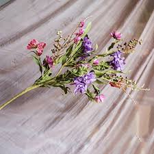 fake flowers for home decor wedding decoration flower artificial plants large pompon plastic
