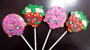 Lollipop Party Favors Shopkins Inspired Chocolate Lollipop Party Favors