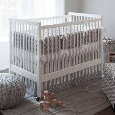 Organic Baby Bedding Crib Sets by Gray Boy Nursery Bedding Thenurseries