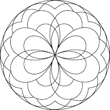 wondrous inspration mandala coloring pages for kids printable