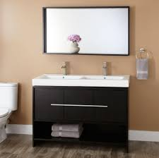 55 Inch Double Sink Bathroom Vanity by Bathroom Double Sink Vanity For Functional And Decorative