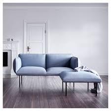 canape confortable moelleux canapé 2 places bleu nakki woud sa ligne épurée et confort