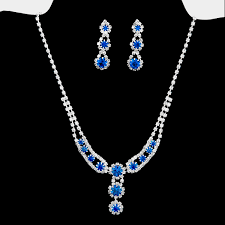 jewelry set bridesmaid s jewelry sets nickel lead free bridal rhinestone