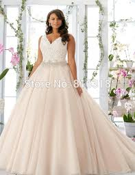 Champagne Wedding Dresses Aliexpress Com Buy Vestidos De Noiva Cap Sleeve Champagne