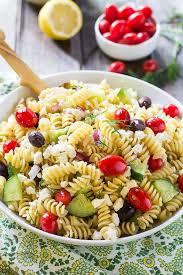 greek pasta salad recipe spicy southern kitchen