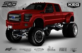 Ford 3500 Diesel Truck - american force has a major presence at sema show torqued magazine