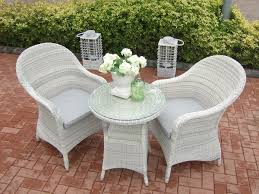 White Wicker Patio Furniture Sets by Dining Room Miraculous Cast Aluminum Outdoor Bistro Set Patio