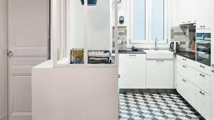cuisine appartement parisien beau amenagement petit appartement parisien 14 une cuisine de 8