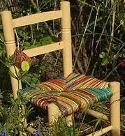 rempailler une chaise la zinzoline rempaillage cannage tapisserie