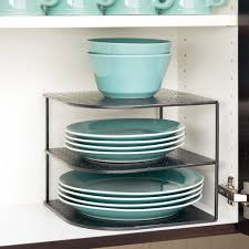 kitchen stylish open corner shelves replace the traditional