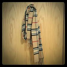 59 off cashmink accessories soft plaid scarf black red tan