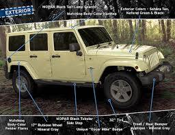 unique jeep colors jeep available to military customers oscar mike edition only 200