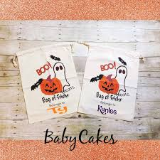 personalized trick or treat bags 11 best treat bag images on treat