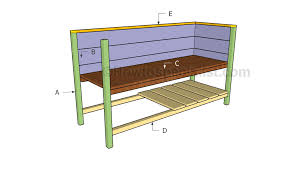 raised planter box plans howtospecialist how to build step by