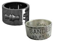 duck band wedding ring men s titanium split back duck band wedding ring ring weddings
