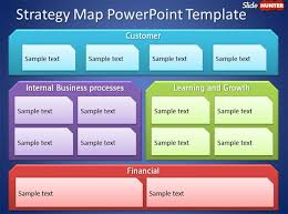 strategy map template free strategy map powerpoint template