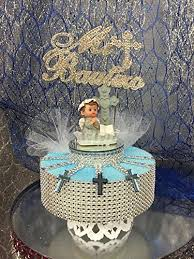 bautizo centerpieces mi bautizo blue boy cake topper centerpiece decoration
