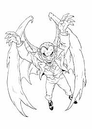 monsters and villains coloring pages 4 monsters and villains