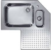 stainless corner sink cp4 one and a half bowl corner sink stainless steel