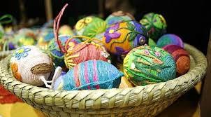 easter egg baskets to make easter kids crafts basket ideas