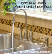 Pfister Kitchen Faucet Reviews Pfister Faucet Review The Avalon 1 Handle Kitchen Faucet