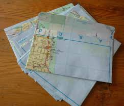 how to make your own envelope simpleliving make your own envelopes from an old street directory