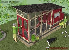 chicken house design and construction with easy to build backyard