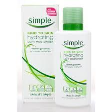 simple light moisturizer review simple kind to skin hydrating light moisturizer average