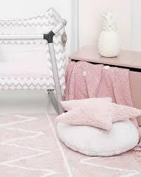 Machine Washable Rugs Lorena Canals Machine Washable Rug Hippy Soft Pink 100 Cotton