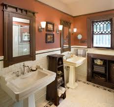 Mirror Pedestal Sink Transitional Towson Maryland United States - Bathroom vanities with tops maryland
