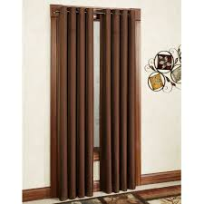 Blackout Door Curtains Hanging A Curtain As A Room Divider Decorate The House With